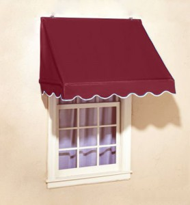 Burgundy-Window-Awning-Door-Canopy